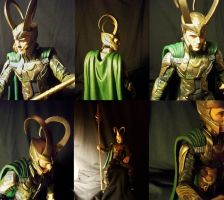 Mischief (a.k.a. The Loki figure photoshoot) by MariaHasAPaintBrush