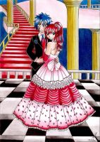 Jerza ~ At the ball by PrettyLittleWolf