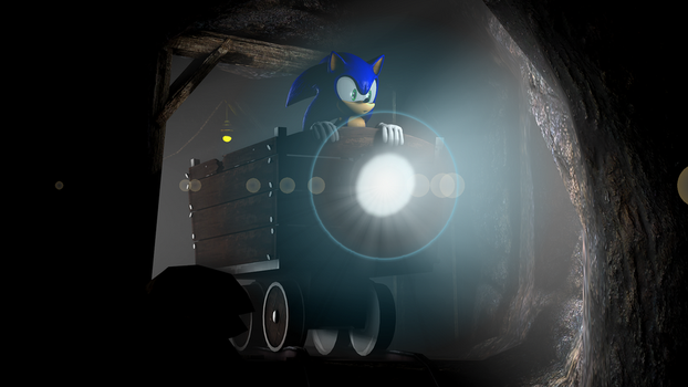 [Sonic The Hedgehog SFM] In The Mines by sonicboom13561