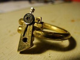 Steampunk Ring by zilith