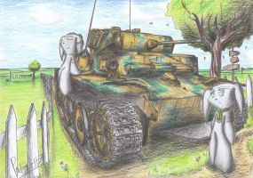 Panzer II Ausf. L Luchs Tank by Patoriotto