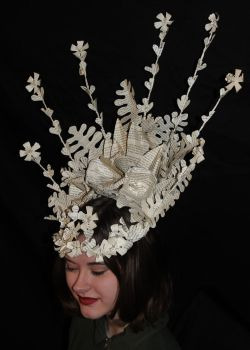 Faye Book Sculpture Headpiece by wetcanvas