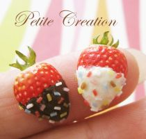 strawberry ring 3 by PetiteCreation