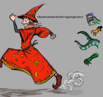 Rincewind in colour by holepunch