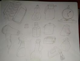 College Dump: Object Study 3 by ThrowingShadows