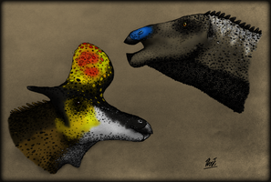 My Favorite Hadrosaurs by TheJuras