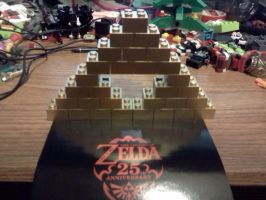 Triforce of Lego by LegoBlockSmith