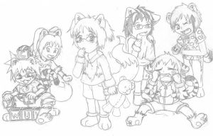 dA-ZOO toddlers by Meje2