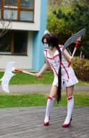 League of Legends - Nurse Akali cosplay 01 by CZSKLoLCosplayers