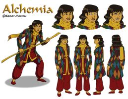 Alchemia Character Sheet by Red-Flare