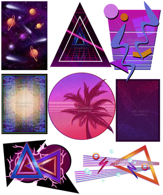 Design backgrounds by Helladelic