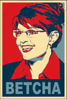 Palin Hope Poster Parody by Gerokeymaster