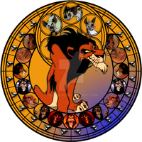 Scar stained glass by jeorje90