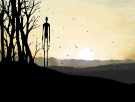 Slenderman - An Autumn Wind by Hyperactive-Nutcase