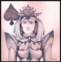 Queen of Spades by deviantmike423