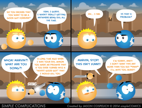 SC801 - Marvin's Promise by simpleCOMICS