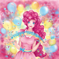 Pinkie Pie [Happy B-Day] by Tomelie