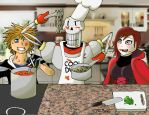 The Art of Spaghetti with Papyrus and friends by AniMat505