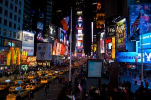 Times Square by CopperbeltJack
