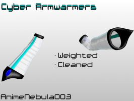 Cyber Armwarmers DL! by AnimeNebula003