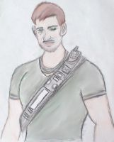 Younger Version of Sam Fisher by KeeperNovaIce