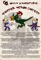 Monster Design Contest 2012 by GuildAdventure