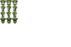 Green Doll Sprites for Creepypasta Land 2 by me by LucasBoato