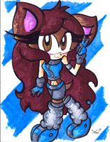 Gift: Calley the Hedgehog by Lilymint7