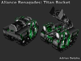 Alliance Renegades: Titan Rocket by DelphaDesign