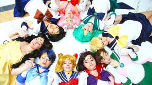 Sailor Moon-Pretty Soldiers by AkabaraYashiki