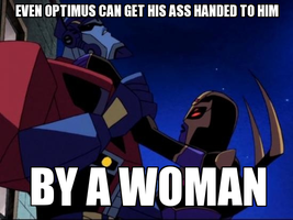 See if Optimus can to. by Blurr19