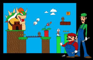 Mario Commission by c-t-supahfly