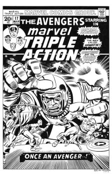 Marvel Triple Action #17 Cover Recreation by dalgoda7