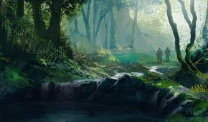Forest concept (8/2009) by wwsketch
