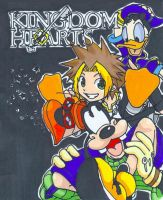 KH Soura Donald Goofy by Penny6