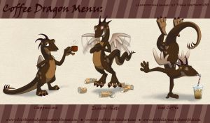 Coffee Dragon Menu by SilverSkye