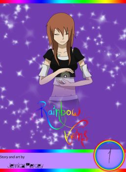 Rainbow Veins -Front cover- by punkrocker280