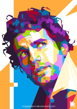 Henry Cavill in WPAP by masqosem