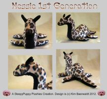 Nessie 1st generation plushie SOLD by SPPlushies