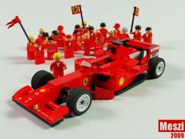 F1 team lego by meszimate