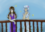 Flowers and Butterflies (gift/collab) by Kassandra-21