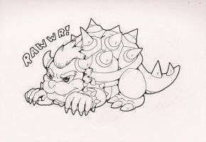 Chibi Bowser by CNWgraphis