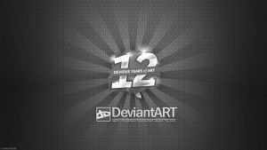 deviantART 12th Birthday Wallpaper by lisong24kobe