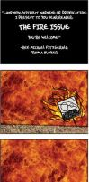 """Mr. Square: """"THE FIRE ISSUE"""" by RevFitz"""