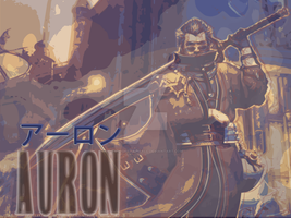 Auron Background by KuroganeLuna