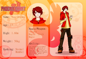Yuu Otsumi Reference Sheet by Meiying262
