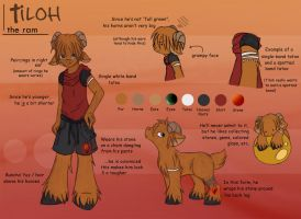 Tiloh Reference Sheet by Yuipu