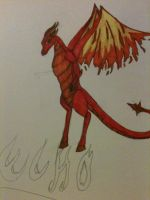 Echo Of the Flame Dragon Tribe by Swiftstone