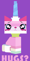 Have You Hugged Your Unikitty Today? by saffronpanther