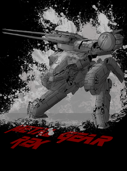 Metal Gear Rex by B-side7715